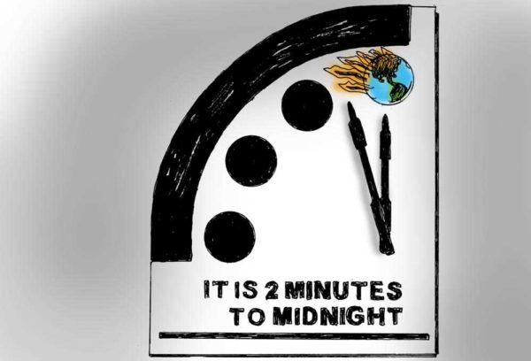 `Doomsday Clock` keeps winding down