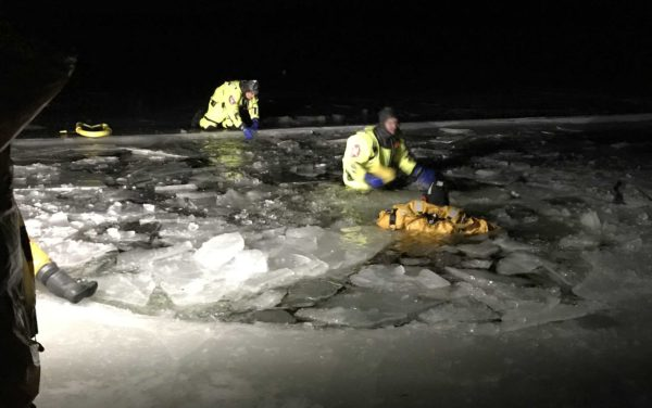 State agencies urge caution on the ice