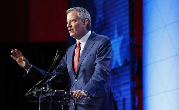 De Blasio Endorses Sanders In 2020 Primary: 'He Stands With Working Families'