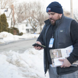 Beating Trump top of Democrats' minds at Maine doors ahead of presidential primary