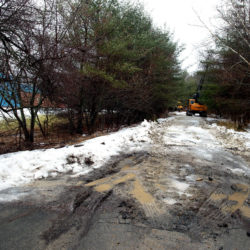 A new Bangor trail will let cyclists avoid the shopping traffic on Stillwater Ave.