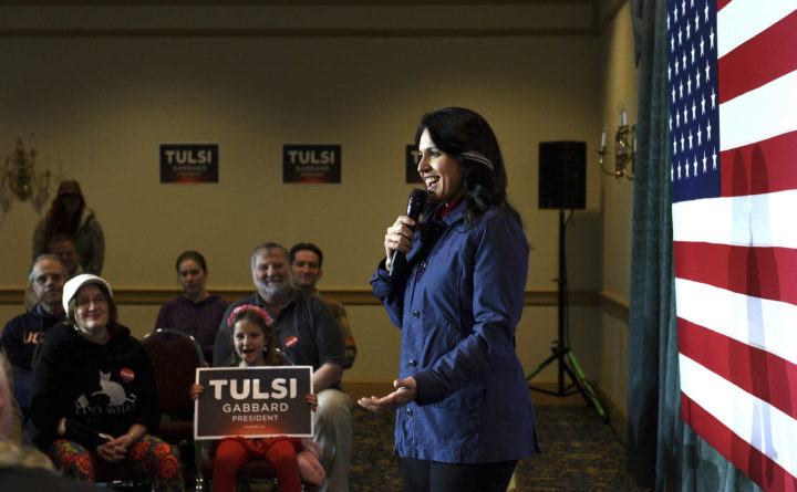 Tulsi Gabbard, last female in Democratic race, booted from next debate