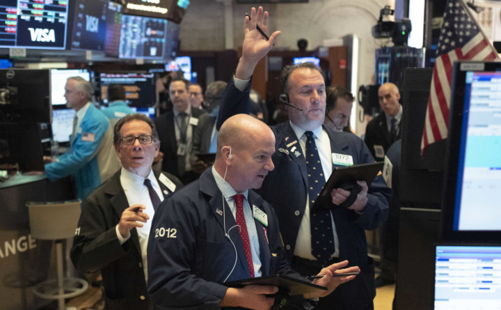 Dow closes below 20,000 on heightened virus fears