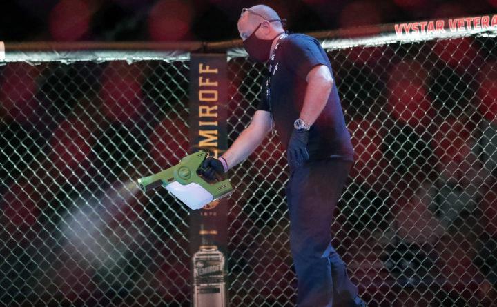 UFC 249 fighters could lose purse for criticizing COVID-19 protocols