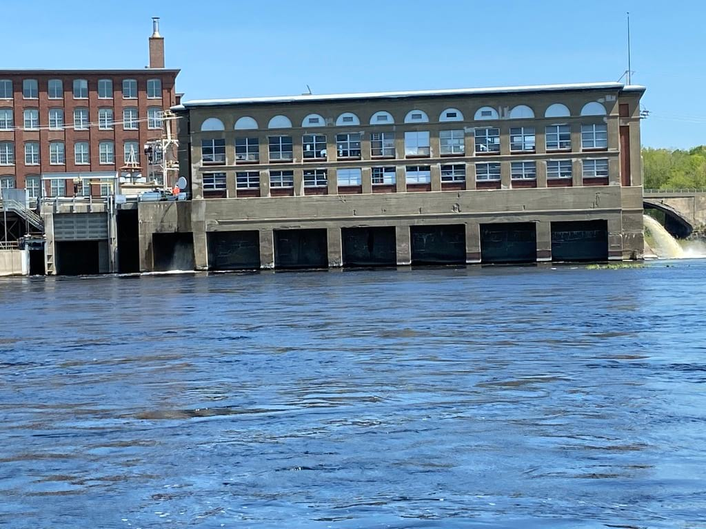 Brookfield temporarily shuts down 3 Kennebec River dams for salmon migration